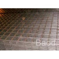 Bridge Square Reinforcing Wire Mesh Opening Welded With 4 - 12 Mm Diameter Manufactures