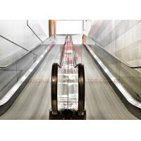 Ce Airport Sately Vvvf High Speed Moving Walkway For Large Passenger Lift
