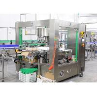 Roll Fed Hot Melt Glue OPP BOPP Labeling Machine For Water Bottle Carbonated Drink Bottle Manufactures