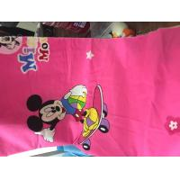 100% cotton printed fabric cartoon character desighs for bed sheet Manufactures