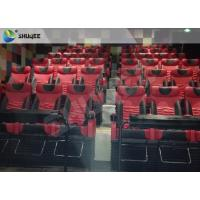 Motion Chair 4D Cinema System Metal Flat Screen / Arc Screen 4D Movie Theater Manufactures