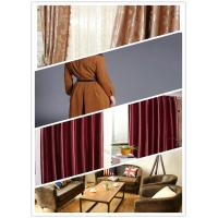 Wear Resistance Red Faux Leather Fabric Moisture Absorption With Good Warmth Manufactures