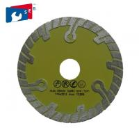 115mm Diamond Blade For Circular Saw , Granite Cutting Disc With Turbo Wave ​​ Manufactures