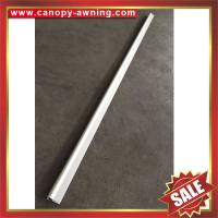 Frontal alu Aluminum aluminium metal bar profile connector for awning/canopy,easy to install Manufactures
