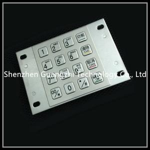 China Metal Atm Pin Keypad , Input Type Password Numeric Keyboard For Kiosk on sale