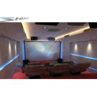 Mobile 5D Cinema Cabin, Theater System With Lightning, Fog, Smell Special Effect Manufactures