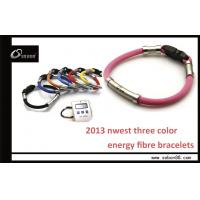 Yellow / Red / Blue Sports Band Power Balance Silicone Bracelet Manufactures