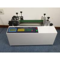 China Portable Foam / PVC Flexible Tube Cutting Machine Max 50MM OD English Language on sale