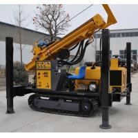 Professional Rock Layer Drilling Rig Machine Artifact Water Well Drilling Rig / 30 Meters An Hour Manufactures