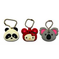 Quality Compact Size PVC Rubber Keychain Delicate Craftsmanship 3D Effect Cost Efficient for sale
