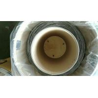 China Pure Zinc Wire for  Ductile iron pipe 3.175mm Diameter Drum package
