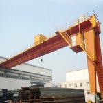 Semi Workshop Gantry Crane Electric hoist 10ton Half 4 Meters High Light Duty Manufactures