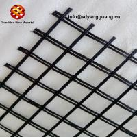Warp Knitted Fiberglass Geogrid For Asphalt Layer Reinforcement Manufactures
