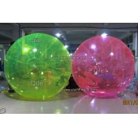 Colorful Inflatable Water Ball , Inflatable Water Bubble For Seaside Manufactures