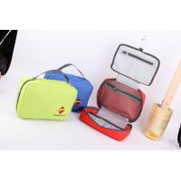 Fashion Hanging Toiletry Kit in Blue Polyester Manufactures