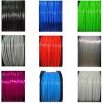 Multi Color 1kg 1.75mm Diameter TPE TPU 3D Printer Filament Abrasion Resistant Manufactures