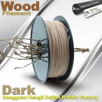 Anti Corrosion Wooden Filament For 3D Wood Printing Material 1.75mm / 3.0mm Manufactures