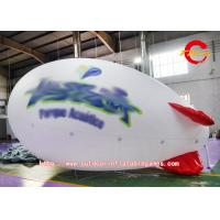 3M White Helium Advertising Balloons Nylon Cloth Outdoor Decoration Manufactures