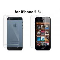 China (5 5S)Front HD clear screen protector for iPhone 5 5S clear screen protective film Screen on sale