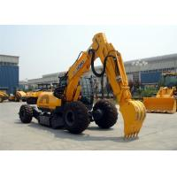 XE60WA Walking Type 6 Ton Wheel Loader Excavator With 0.23cbm Bucket Capacity Manufactures