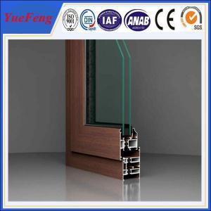 NEW ! standard size aluminium door and windows/ high quality modern aluminium window frame Manufactures