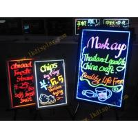 China 1.2W Insulate Mode 12V Handwriting Fluorescent Led Writing Board for Notice in Schools on sale