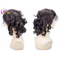 Cambodian Loose Wave Full Lace Virgin Human Hair Wigs With No Matting No Foul Odor Manufactures
