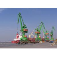 China Level Luffing Portal Mobile Harbour Crane 10 Ton - 120 Ton With ISO FEM JIS Standards on sale