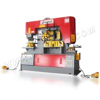 China factory direct supply hydraulic ironworker hole punching shearing machine Manufactures