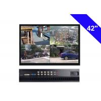 Black CCTV LCD Monitor 42 Inch , 220W CCTV Security Monitor AC 100V- 240V Manufactures