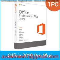 Server Microsoft Office 2019 Pro Plus / Windows Office 2019 Product Key Manufactures