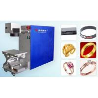 Portable Laser Marking Machine  AC220V / 50Hz With inside and outside ring,flat products Manufactures