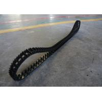 China 1.25kg High Friction Robot Rubber Tracks Easy To Change Size 50 X 25 X 101 on sale