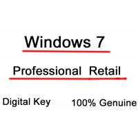 China Genuine Microsoft Windows 7 License Key Professional Full Retail Version 32 bit and 64 bit on sale