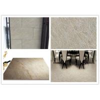 Yellow Beige Ceramic Kitchen Floor Tile , Sandstone Porcelain Tiles Manufactures