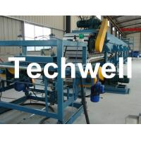 Double Belt Continuous PU Sandwich Panel Production Line / Sandwich Panel Machine Manufactures