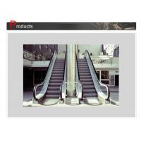 High Quality VVVF Durable Stainless Steel Panel Escalator Safety With Anti Lip Grooves for Shopping Mall
