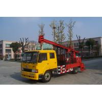 Quality Natural Gas Truck Mounted Drilling Rig , Trailer Mounted Drilling Rigs for sale