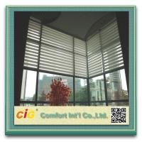 China Polyester Home Textile Fabric Sheer Screen 400-600gsm 30 Meters Per Roll on sale