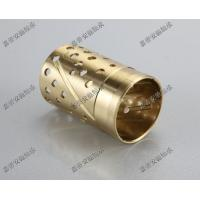 Wrapped bronze sliding bearing with lubrication pockets Low-maintenance DIN 1494 / ISO 3547 Manufactures