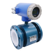 China magnetic water flow meter electromagnetic flow meter for Sewage treatment plant on sale