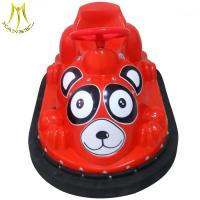 China Hansel amusement machines coin operated battery powered bumper car on sale