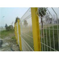 3d Curved Highway Fence , Heat Treated Galvanized Wire Mesh Fence Eco Friendly Manufactures