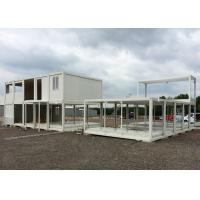 Glass Wool Modular Container Homes Two Stories For Large Construction Site Manufactures