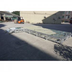 China RK Height adjustable aluminum stage foldable stage platform temporary stage platforms on sale