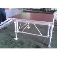 China Commercial Aluminum Stage Platform ML-005 Adjustable Length SGS Standard on sale