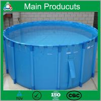 New Design Products Portable Flexible Cube Structure Fish Farming Tanks for Sale Manufactures