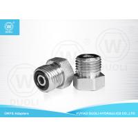 Buy cheap Straight ORFS Male Plug Thread Hydraulic Adapters , Hydraulic Hose Connectors from wholesalers