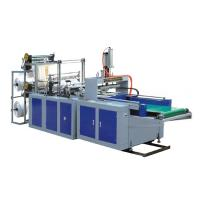 China Fully Automatic Double Layers Plastic Glove Making Machine on sale