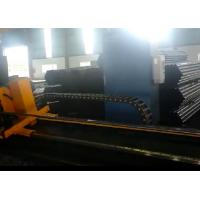 China Smooth cut servo motor control cold cut flying saw machine for 2 tube on sale